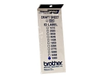 Brother ID1060 - stamp ID labels - 12 label(s) - 10 x 60 mm