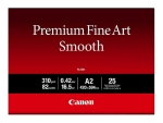 Canon Premium Fine Art Smooth FA-SM1 - photo paper - 25 sheet(s) - A2 - 310 g/m²