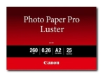 Canon Photo Paper Pro Luster LU-101 - photo paper - 25 sheet(s) - A2 - 260 g/m²