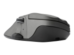 Contour Mouse Wireless Large - mouse - 2.4 GHz - metal grey