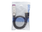 DELTACO display cable - 2 m