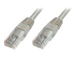 DIGITUS Ecoline patch cable - 1 m - grey