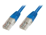 DIGITUS Ecoline patch cable - 1 m - blue