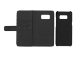 "eSTUFF - Flip cover for mobile phone - eco-leather, synthetic - 5.8"" - for Samsung Galaxy S8"