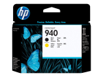 HP 940 - black, yellow - printhead