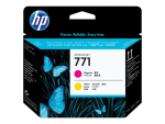HP 771 - yellow, magenta - printhead