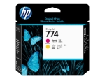 HP 774 - yellow, magenta - printhead