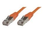 MicroConnect network cable - 1.5 m - orange