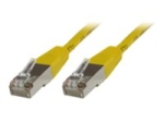 MicroConnect network cable - 1 m - yellow