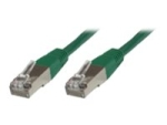 MicroConnect network cable - 2 m - green