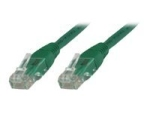 MicroConnect network cable - 50 cm - green