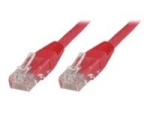 MicroConnect network cable - 50 cm - red