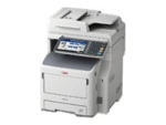OKI MB770dfnfax - multifunction printer - B/W - with 500-sheets Finisher