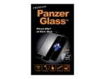 PanzerGlass Premium - Screen protector for mobile phone - black - for Apple iPhone 6, 6s, 7