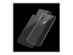 PanzerGlass Back Glass - Back surface protector for mobile phone - for Apple iPhone X