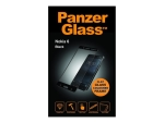 PanzerGlass - Screen protector for mobile phone - black - for Nokia 6
