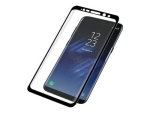 PanzerGlass Premium - Screen protector for mobile phone - black - for Samsung Galaxy S8