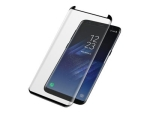 PanzerGlass Case Friendly - Screen protector for mobile phone - black - for Samsung Galaxy S8