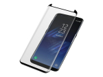 PanzerGlass - Screen protector for mobile phone - black - for Samsung Galaxy S8+