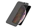 PanzerGlass Case Friendly - Screen privacy filter for mobile phone - black - for Apple iPhone X, XS