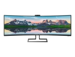Philips Brilliance P-line 499P9H - LED monitor - curved - 49""