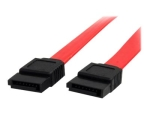 StarTech.com 24in SATA Serial ATA Cable - SATA cable - Serial ATA 150 - SATA (F) to SATA (F) - 2 ft - red - SATA24 - SATA cable - 0.6 m