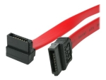 StarTech.com 24in SATA to Right Angle SATA Serial ATA Cable - SATA cable - 61 cm