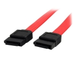 StarTech.com 6in SATA Serial ATA Cable - SATA cable - Serial ATA 150/300 - SATA (F) to SATA (F) - 5.9 in - red - SATA6 - SATA cable - 15 cm